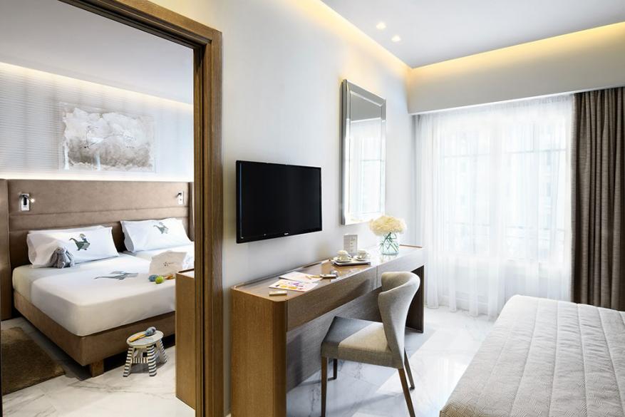 Deluxe Modern Family Δωμάτια