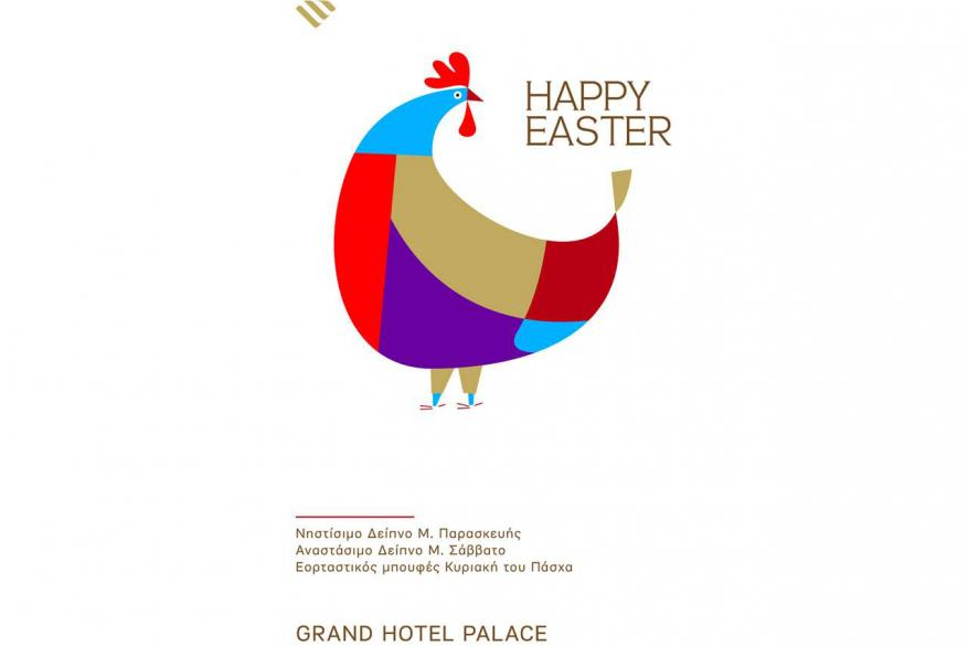 Easter at GRAND HOTEL PALACE